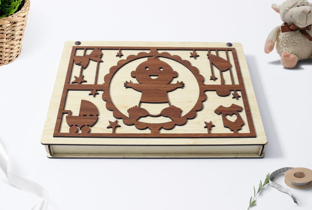 ahşap bebek çikolatası