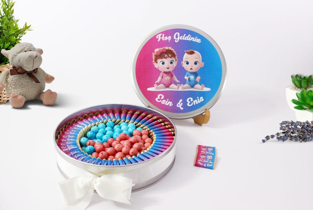 ikiz bebek çikolatası